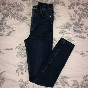 Zara Highwaisted Skinny Jeans